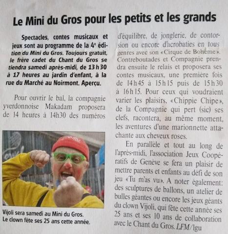 Article Le Franc-Montagnard