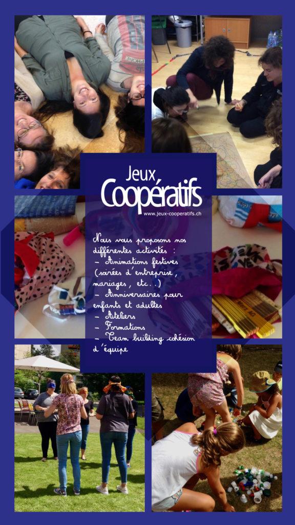 Visuel Jeux coopératifs activités