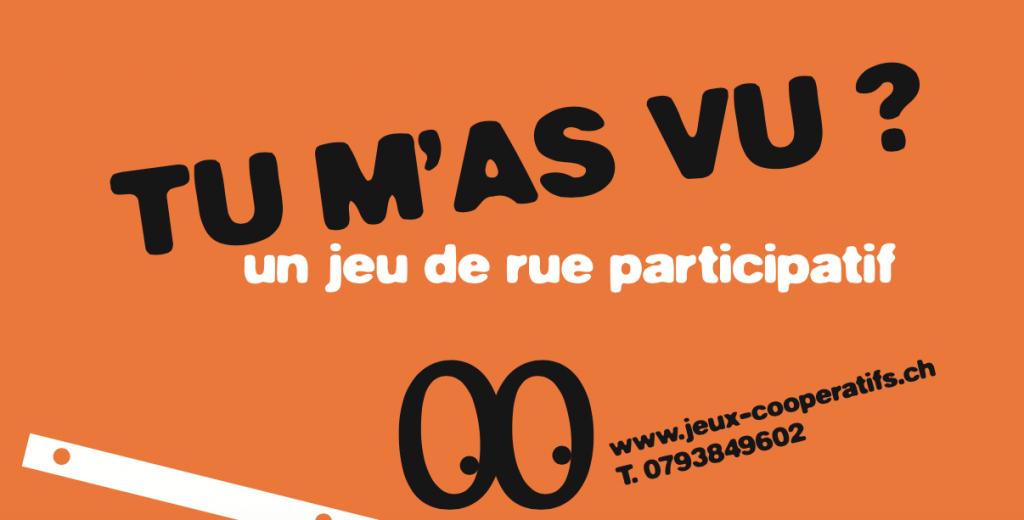 "Visuel ""Tu m'as vu?"" @Isa Meunier-Fleury"