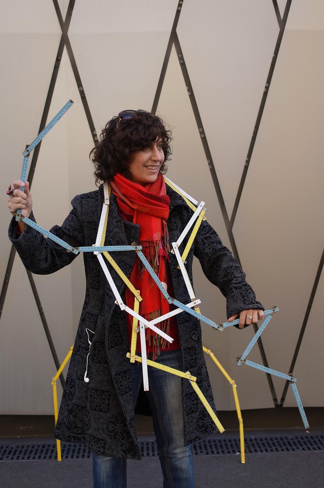 """Carole-lyne Klay à l'initiative du projetpilote """"Tu m'as vu?"""""""