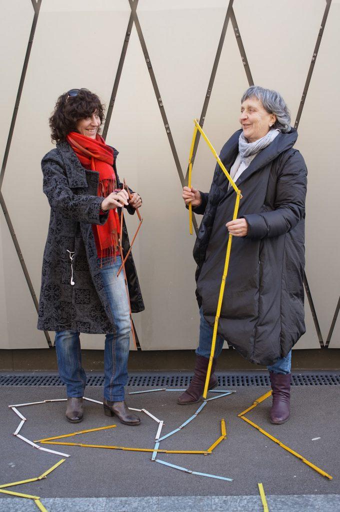 """Témoignages défi coopératif """"Tu m'as vu?"""" Carole-lyne Klay et Catherine Froidevaux"""