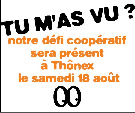 """Tu m'as vu?"" à Thônex 2018"