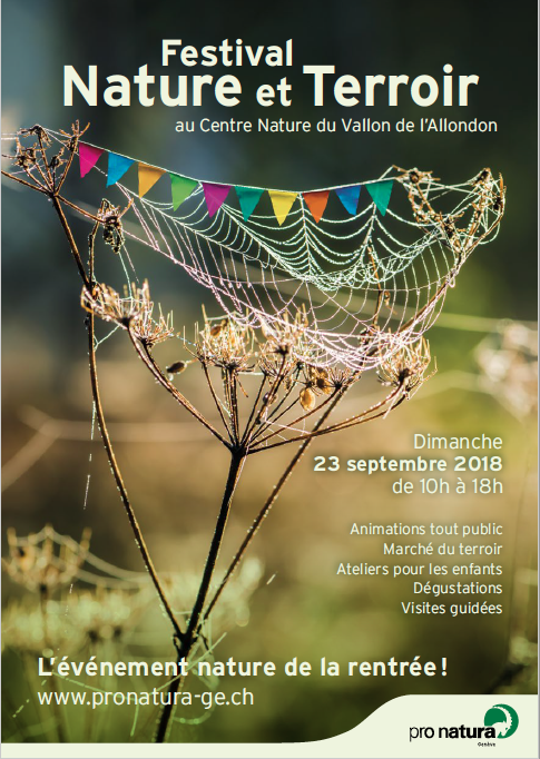 Affiche Nature et Terroir de Pro Natura 2018