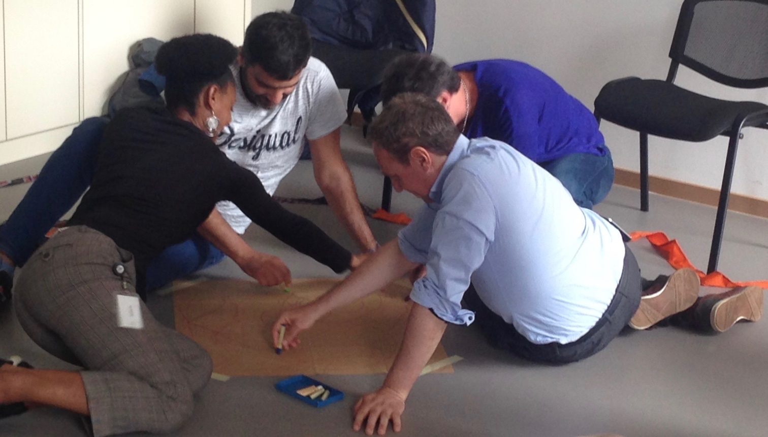 Cohésion d'équipe- Team building Jeux Coopératifs