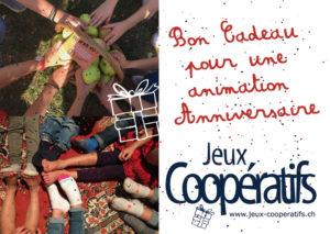 Bon cadeau anniversaire Jeux Coopératifs
