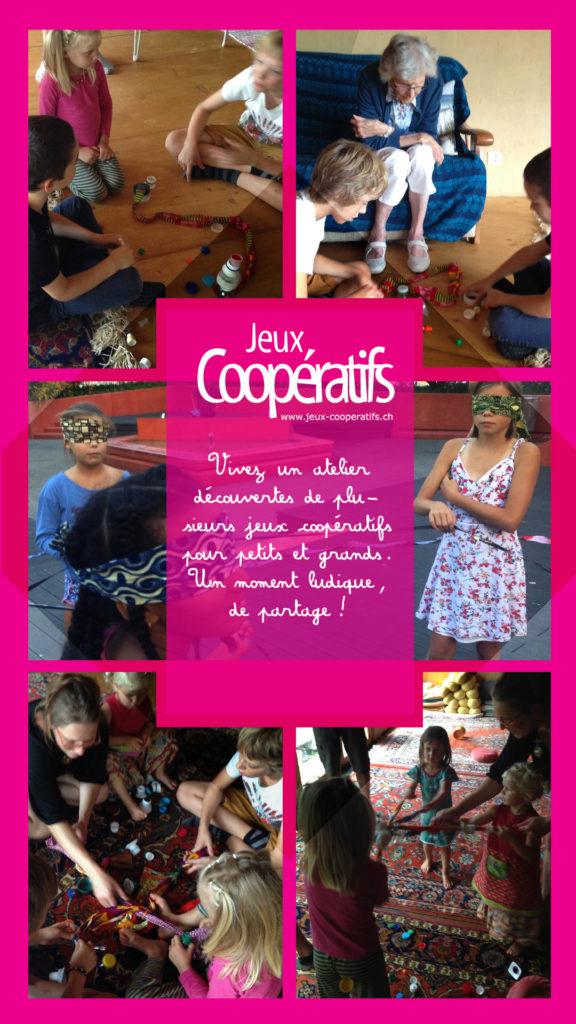 Tarifs de nos ateliers Jeux Coopératifs