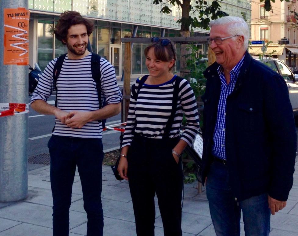 Roland Le Blévennec : a fait beaucoup pour la musique à Genève, relève le défi coopératif «Tu m'as vu?»