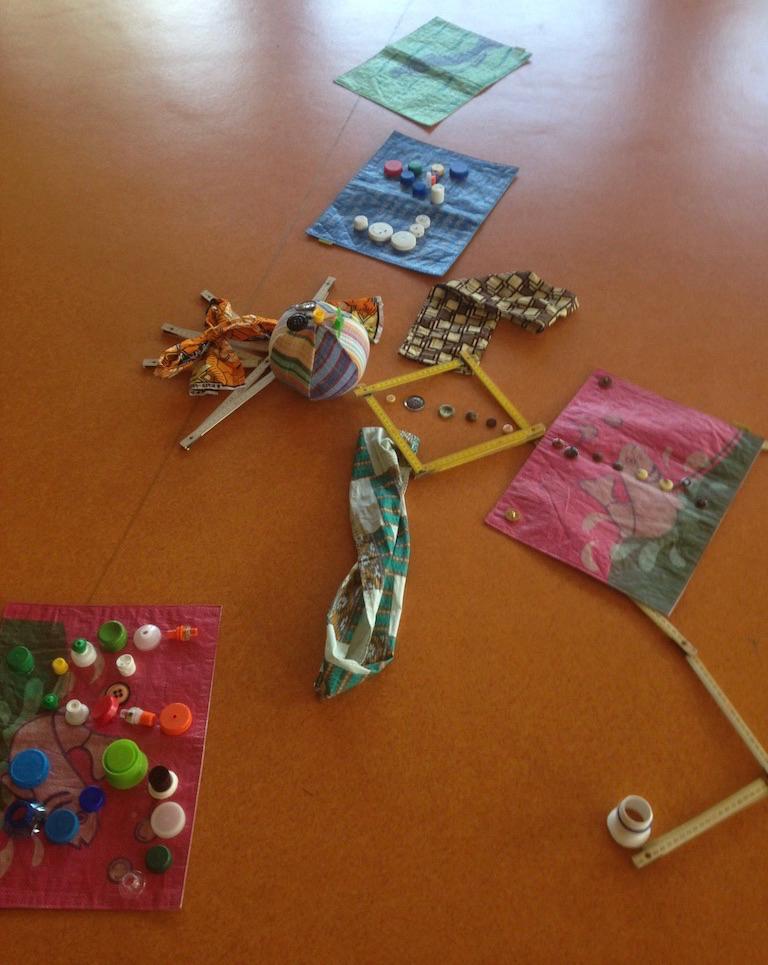 Œuvre collaborative Jeux Coopératifs